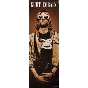 KURT COBAIN NIRVANA DOOR POSTER 21X 62 #DP791:  Home