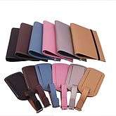Leather Passport Case & Luggage Tag Set   high flyer   travel