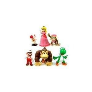 Super Mario Brothers Figures 2 3 Set of 6 Toys & Games