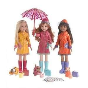 Wee 3 Friends Dolls Rain Rain Rain oys & Games