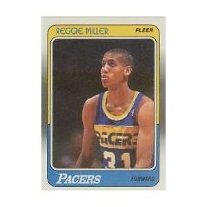 88   89 FLEER Reggie Miller RC Near Mint  Sports