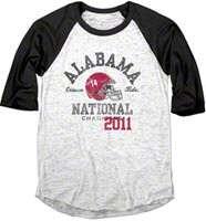 Alabama Crimson Tide Womens Shirts, Alabama Crimson Tide Women long