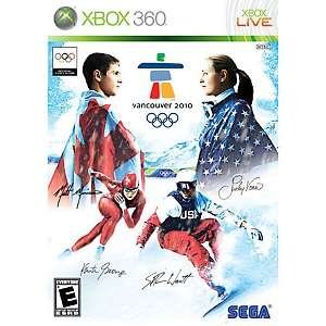 Vancouver 2010 Winter Olympics Video Game   Xbox 360