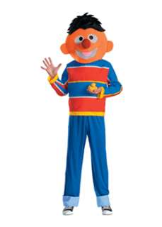Adult Sesame Street Ernie Costume  Cheap TV Halloween Costume for