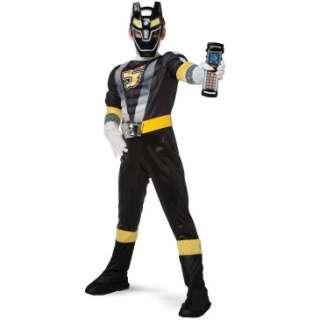 Power Ranger RPM Black Ranger Classic Muscle Child Costume , 60751
