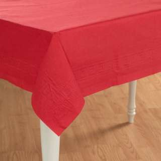 Classic Red (Red) Paper Tablecover   Costumes, 57581