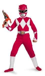 Red Power Ranger Costume   Boys Costumes