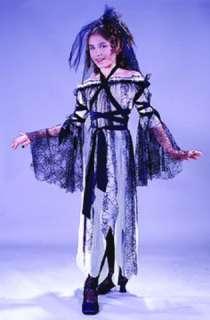costumes in shopping cart black widow bride