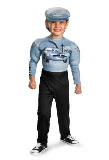 Disney Cars 2 Finn McMissile Classic Muscle Toddler/Child Costume for