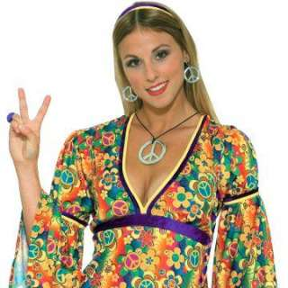 peace sign necklace and earrings regular $ 4 99 price $ 3 99 save