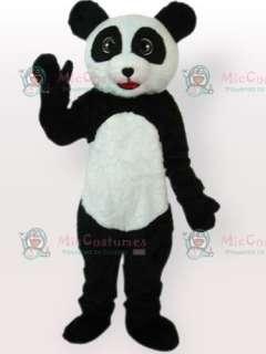 Plush Panda Adult Mascot Costume Type E  Panda Adult Mascot Type E