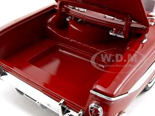 1961 CHEVROLET IMPALA SS 409 ROMAN RED 1/18 DIECAST CAR MODEL BY