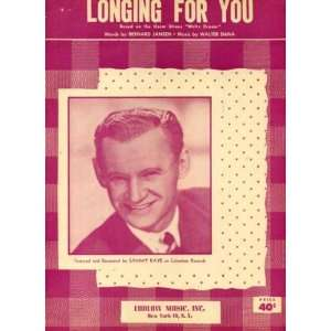Longing for You Vintage 1951 Sheet Music Recorded by Sammy