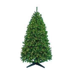 Barcana 8 Foot Remote Control Highland Fir Christmas Tree