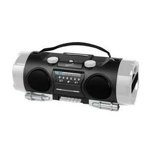 Portable MP3/CD Player with AM/FM Radio, USB Input & SD Card Slot By
