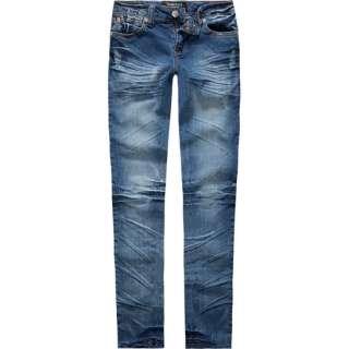 TRACTOR Vintage Bleach Girls Skinny Jeans 162784810  jeans