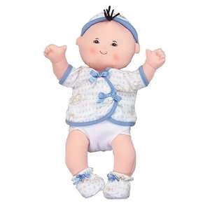 The Forever Dolls 15 Soft Asian Baby Doll Boy in Blue Toys & Games