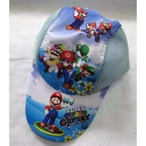 Mario Bro Baseball Hat   Blue Mario and Friends Toys
