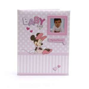 Disney Minnie Mouse Baby Girl Keepsake Record Memory Book: Baby