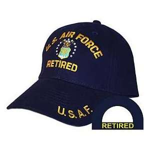 United States Air Force Retired Blue Hat Cap USAF