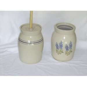 Butter Churn with Americana Birdhouses: Kitchen & Dining