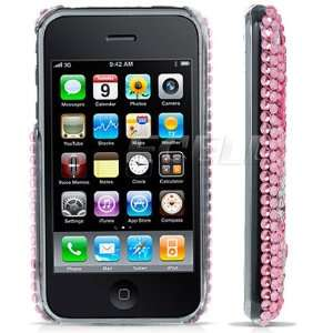 PINK CALL ME DIAMOND BLING CASE COVER FOR iPHONE 3G 3GS Electronics