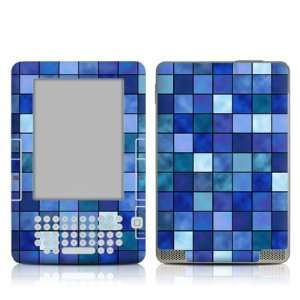 Blue Mosaic Design Protective Decal Skin Sticker for