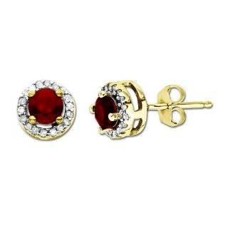 14k Yellow Gold Blue Sapphire and Diamond J Hoop Earrings Jewelry