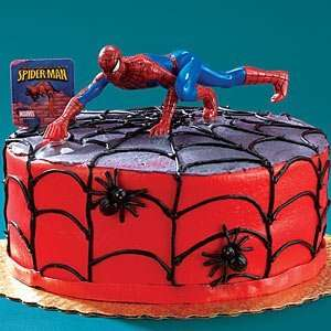 Party Supplies   Spider Man 3 Cake Topper Toys & Games