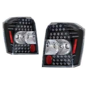 2007 2009 Dodge Caliber KS LED Black Tail Lights Automotive