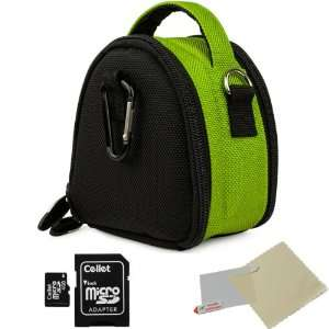 Digital Camera Carrying Case with Accessory Compartment For Canon