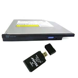 Slim 8x CD DVD RW Dual Layer IDE Burner Drive For DELL XPS
