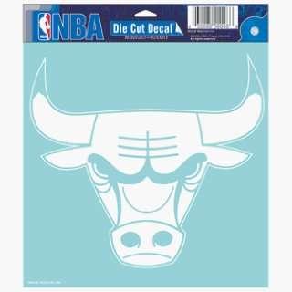 NBA Chicago Bulls 8 X 8 Die Cut Decal