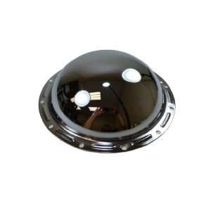 Corporate Chrome Steel Rear Differential Cover   12 Bolt Automotive