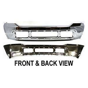 FD40160C TY1 Ford Superduty/Excursion Chrome Replacement Front Bumper