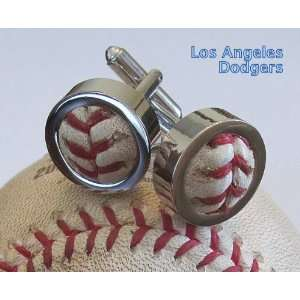 com Los Angele Dodgers Game Used Baseball Cufflinks Everything Else