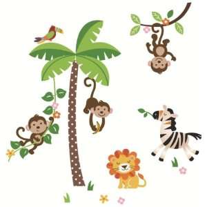 and Tree Giant Baby/Nursery Wall Sticker Decals for Boys and Girls