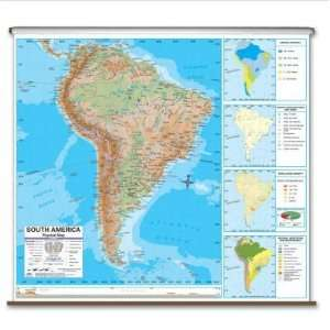 Universal Map 2794628 North America Advanced Physical Wall Map
