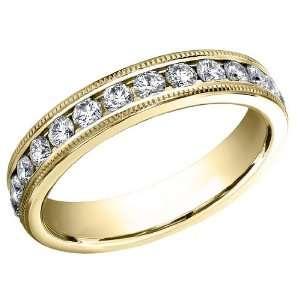 Benchmark Ladies Eternity Diamond Wedding Band and Anniversary Ring 1