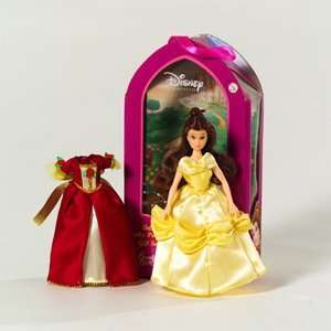 Disney Princess Belle Doll Gift Set w/ Interchangeable Dress