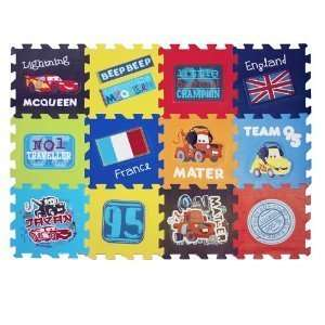 Disney Cars 2 Puzzle Mat