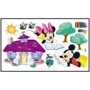 Easy Instant Decoration Wall Sticker Decal  Minnie