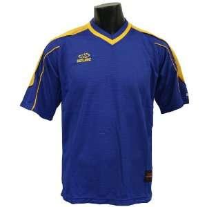 Kelme Vilassar Custom Soccer Jerseys ROYAL/DARK GOLD AM