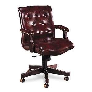 HON 6543NEJ62 6540 Series Executive Mid Back Swivel Chair