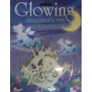 GLOW FLYING COWS Toys & Games
