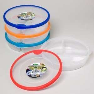 Round Plastic Food Storage Container Case Pack 48