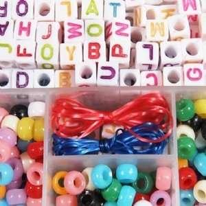 Alphabet Friendship Bracelets Kit Toys & Games