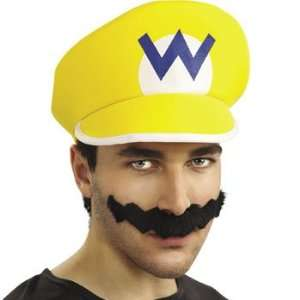 Super Mario Bros Wario Kit   Costumes & Accessories & Costume Props