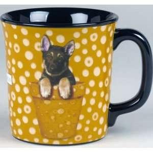 Keith Kimberlin German Shepherd Dog Mug Kitchen & Dining