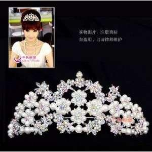 Bride/ Flower Girl Crystal Tiara Comb